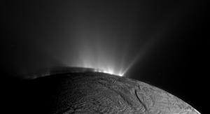 Enceladus water geysers
