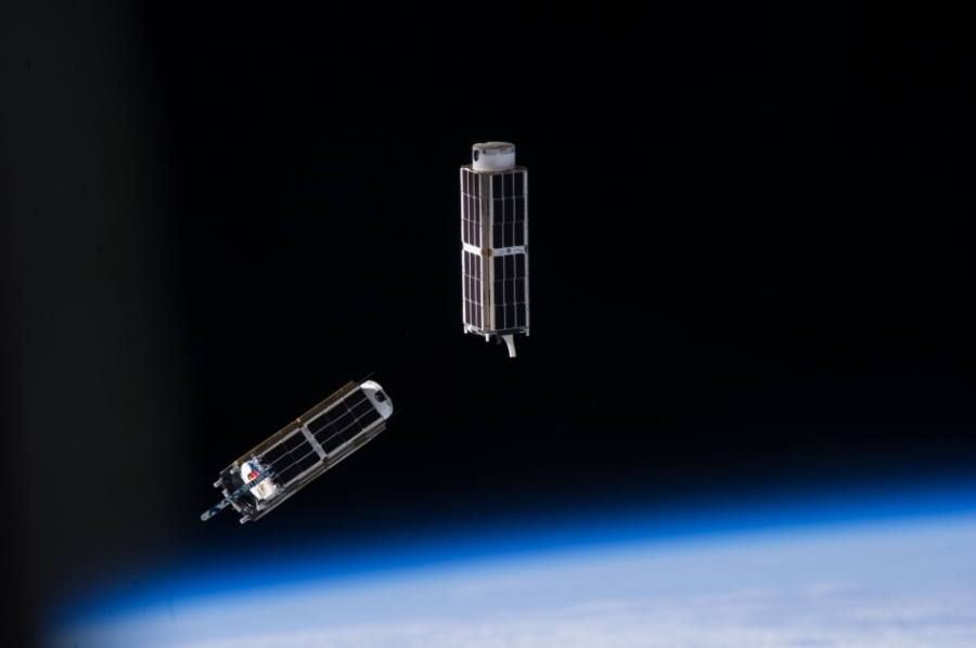 cubesats from ISS 2